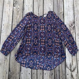 Forever21 Contemporary Hi-Low Blouse